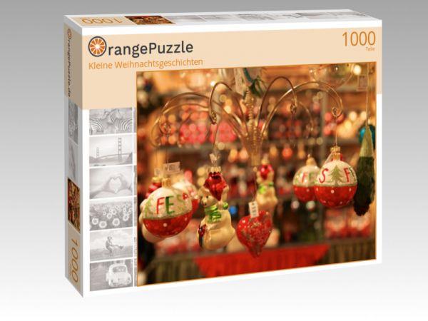 """Puzzle Motiv """"Kleine Weihnachtsgeschichten"""" - Puzzle-Schachtel zu 1000 Teile Puzzle"""