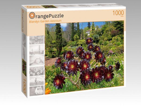 "Puzzle Motiv ""Blandys Garden Aeonium"" - Puzzle-Schachtel zu 1000 Teile Puzzle"
