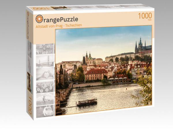 """Puzzle Motiv """"Altstadt von Prag - Tschechien"""" - Puzzle-Schachtel zu 1000 Teile Puzzle"""