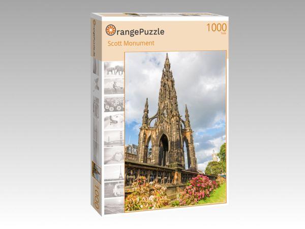 """Puzzle Motiv """"Scott Monument"""" - Puzzle-Schachtel zu 1000 Teile Puzzle"""
