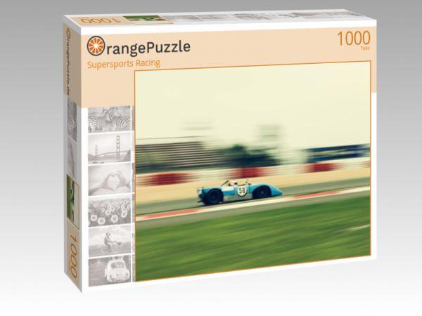 """Puzzle Motiv """"Supersports Racing"""" - Puzzle-Schachtel zu 1000 Teile Puzzle"""