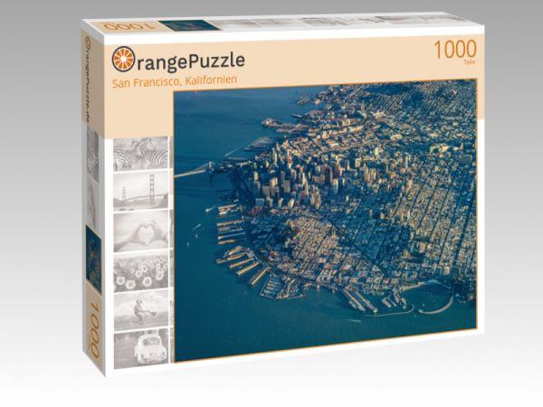 """Puzzle Motiv """"San Francisco, Kalifornien"""" - Puzzle-Schachtel zu 1000 Teile Puzzle"""