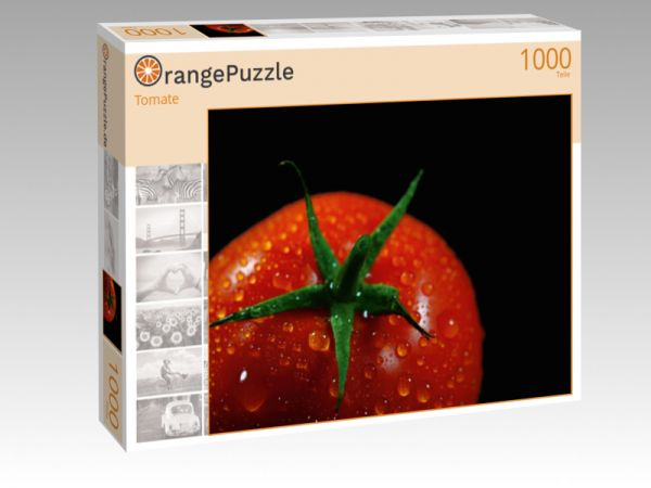 """Puzzle Motiv """"Tomate"""" - Puzzle-Schachtel zu 1000 Teile Puzzle"""