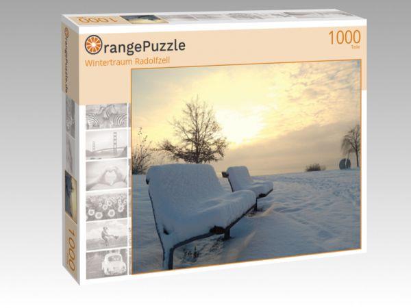 """Puzzle Motiv """"Wintertraum Radolfzell"""" - Puzzle-Schachtel zu 1000 Teile Puzzle"""