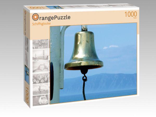 "Puzzle Motiv ""Schiffsglocke"" - Puzzle-Schachtel zu 1000 Teile Puzzle"