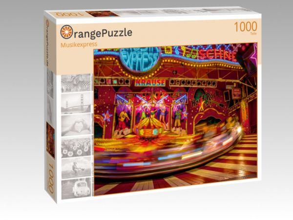 """Puzzle Motiv """"Musikexpress"""" - Puzzle-Schachtel zu 1000 Teile Puzzle"""