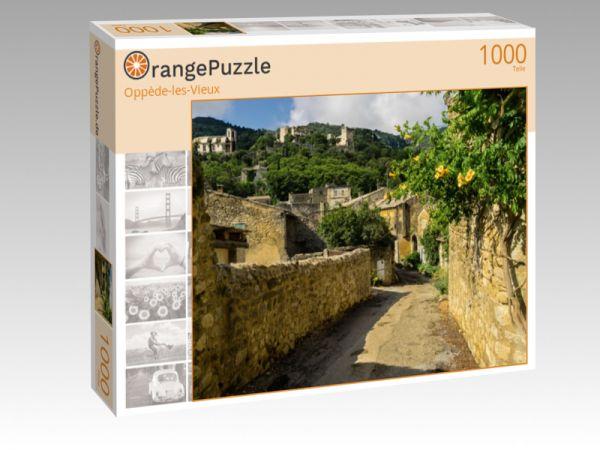 """Puzzle Motiv """"Oppède-les-Vieux"""" - Puzzle-Schachtel zu 1000 Teile Puzzle"""