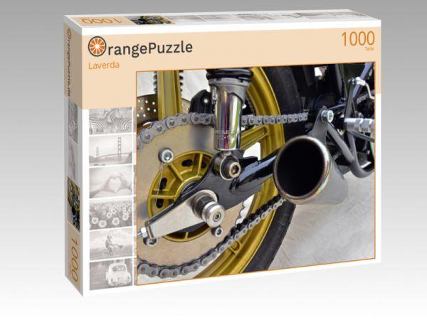 """Puzzle Motiv """"Laverda"""" - Puzzle-Schachtel zu 1000 Teile Puzzle"""