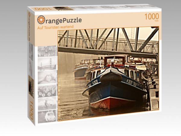 """Puzzle Motiv """"Auf Touristen wartend"""" - Puzzle-Schachtel zu 1000 Teile Puzzle"""