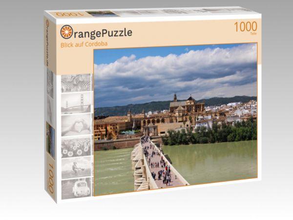 """Puzzle Motiv """"Blick auf Cordoba"""" - Puzzle-Schachtel zu 1000 Teile Puzzle"""