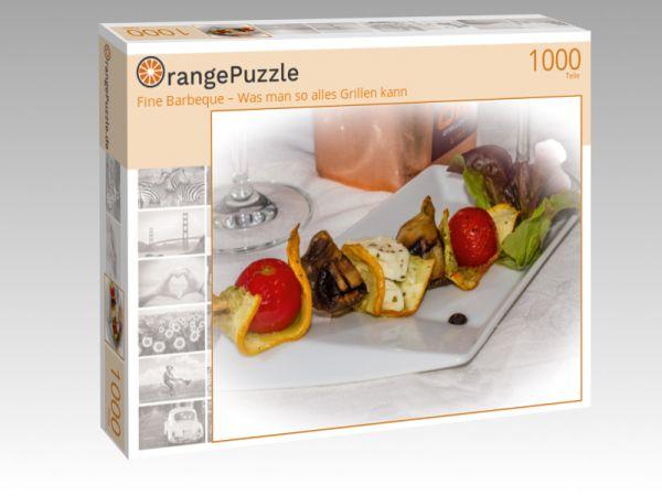 """Puzzle Motiv """"Fine Barbeque – Was man so alles Grillen kann"""" - Puzzle-Schachtel zu 1000 Teile Puzzle"""