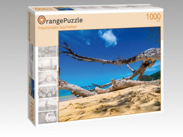 """Puzzle Motiv """"Trauminseln Seychellen"""" - Puzzle-Schachtel zu 1000 Teile Puzzle"""