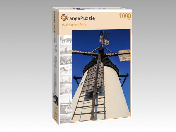 """Puzzle Motiv """"Weinstadt Retz"""" - Puzzle-Schachtel zu 1000 Teile Puzzle"""