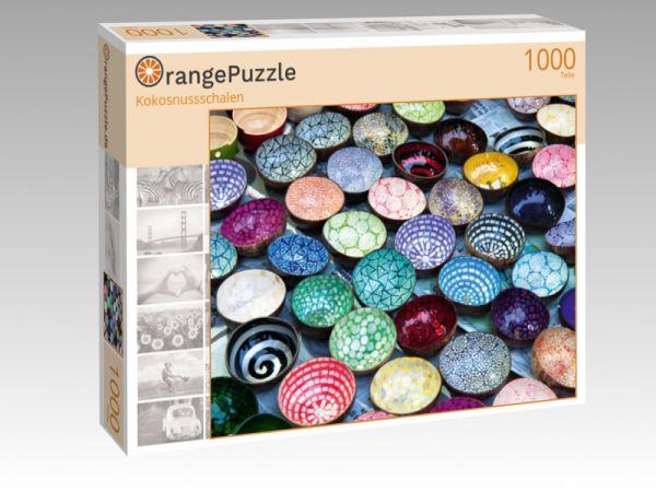 "Puzzle Motiv ""Kokosnussschalen"" - Puzzle-Schachtel zu 1000 Teile Puzzle"