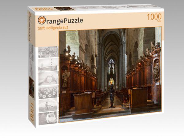 "Puzzle Motiv """"Stift Heiligenkreuz"""" - Puzzle-Schachtel zu 1000 Teile Puzzle"