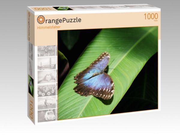 """Puzzle Motiv """"Himmelsfalter"""" - Puzzle-Schachtel zu 1000 Teile Puzzle"""