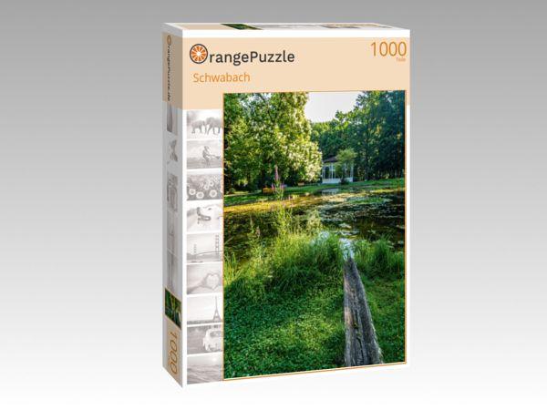"""Puzzle Motiv """"Schwabach"""" - Puzzle-Schachtel zu 1000 Teile Puzzle"""