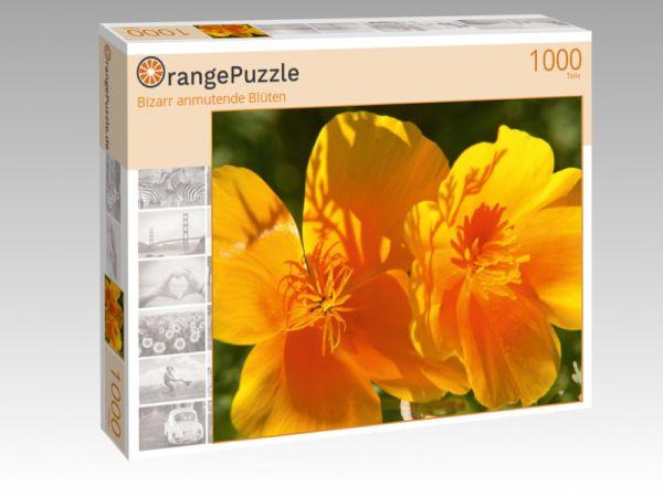 """Puzzle Motiv """"Bizarr anmutende Blüten"""" - Puzzle-Schachtel zu 1000 Teile Puzzle"""