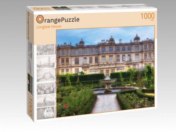 """Puzzle Motiv """"Longleat House"""" - Puzzle-Schachtel zu 1000 Teile Puzzle"""