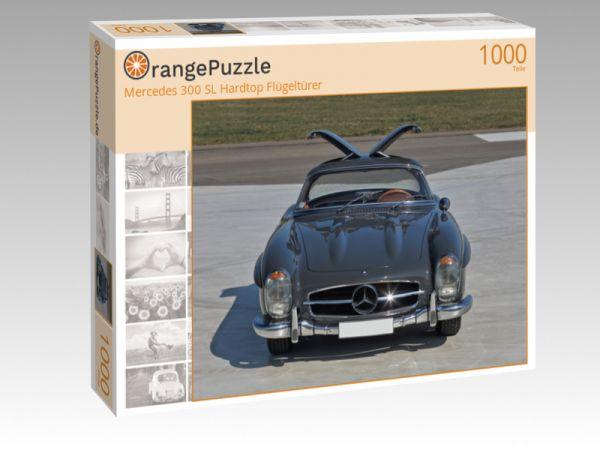 "Puzzle Motiv ""Mercedes 300 SL Hardtop Flügeltürer"" - Puzzle-Schachtel zu 1000 Teile Puzzle"