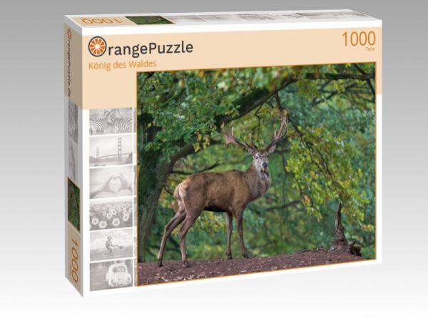 """Puzzle Motiv """"König des Waldes"""" - Puzzle-Schachtel zu 1000 Teile Puzzle"""
