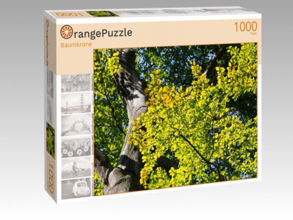"Puzzle Motiv ""Baumkrone"" - Puzzle-Schachtel zu 1000 Teile Puzzle"