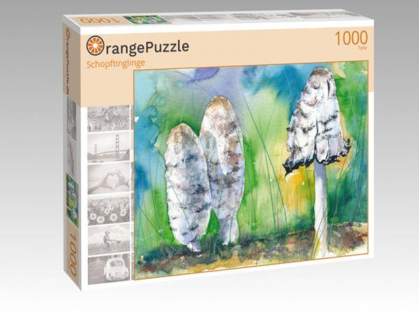 """Puzzle Motiv """"Schopftinglinge"""" - Puzzle-Schachtel zu 1000 Teile Puzzle"""