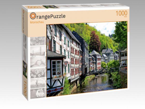 """Puzzle Motiv """"Monschau"""" - Puzzle-Schachtel zu 1000 Teile Puzzle"""