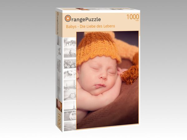 "Puzzle Motiv ""Babys - Die Liebe des Lebens"" - Puzzle-Schachtel zu 1000 Teile Puzzle"