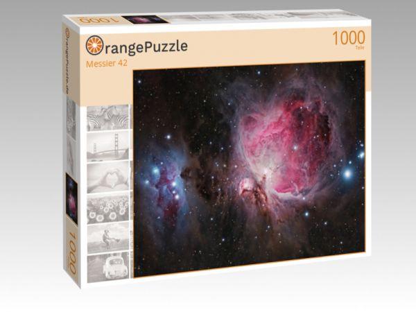 """Puzzle Motiv """"Messier 42"""" - Puzzle-Schachtel zu 1000 Teile Puzzle"""