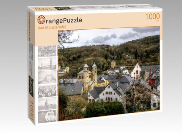 "Puzzle Motiv ""Bad Münstereifel"" - Puzzle-Schachtel zu 1000 Teile Puzzle"