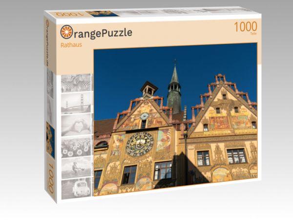 """Puzzle Motiv """"Rathaus"""" - Puzzle-Schachtel zu 1000 Teile Puzzle"""