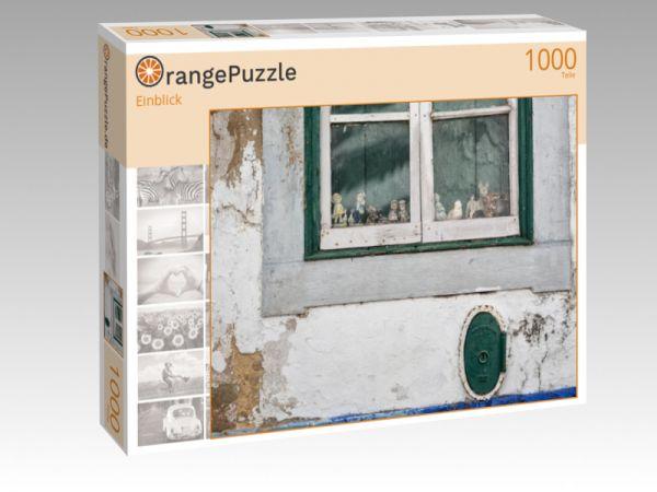"""Puzzle Motiv """"Einblick"""" - Puzzle-Schachtel zu 1000 Teile Puzzle"""