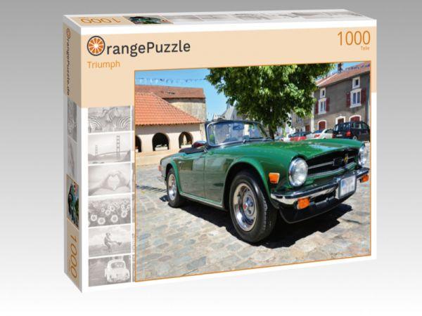 """Puzzle Motiv """"Triumph"""" - Puzzle-Schachtel zu 1000 Teile Puzzle"""