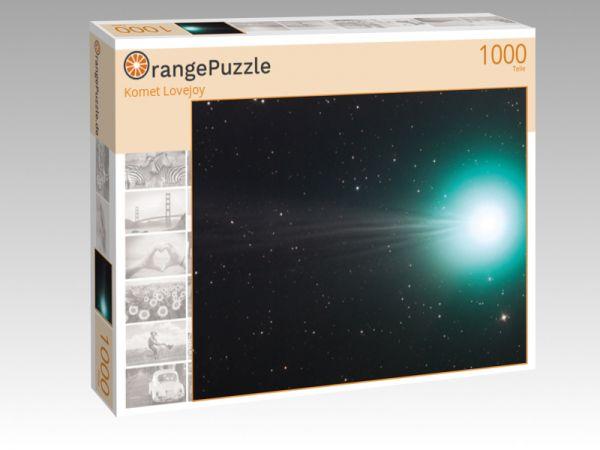 """Puzzle Motiv """"Komet Lovejoy"""" - Puzzle-Schachtel zu 1000 Teile Puzzle"""