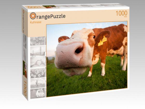 """Puzzle Motiv """"Kuhnase"""" - Puzzle-Schachtel zu 1000 Teile Puzzle"""