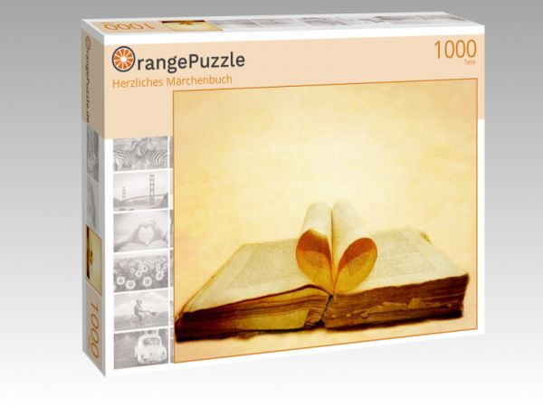"""Puzzle Motiv """"Herzliches Märchenbuch"""" - Puzzle-Schachtel zu 1000 Teile Puzzle"""