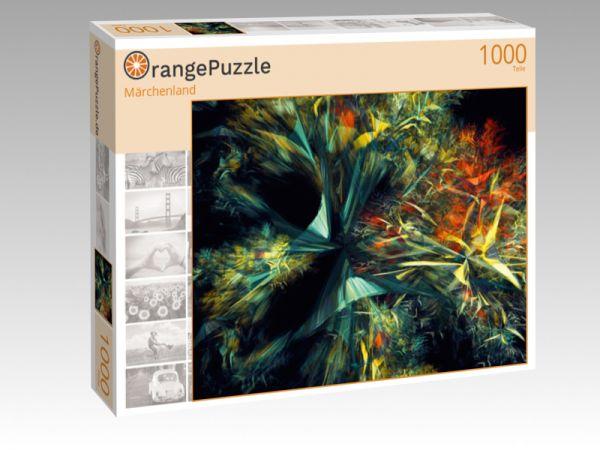 """Puzzle Motiv """"Märchenland"""" - Puzzle-Schachtel zu 1000 Teile Puzzle"""