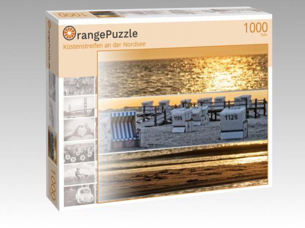"""Puzzle Motiv """"Küstenstreifen an der Nordsee"""" - Puzzle-Schachtel zu 1000 Teile Puzzle"""