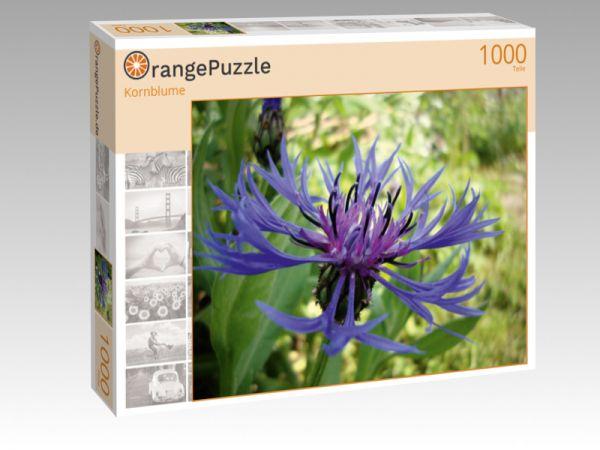 """Puzzle Motiv """"Kornblume"""" - Puzzle-Schachtel zu 1000 Teile Puzzle"""