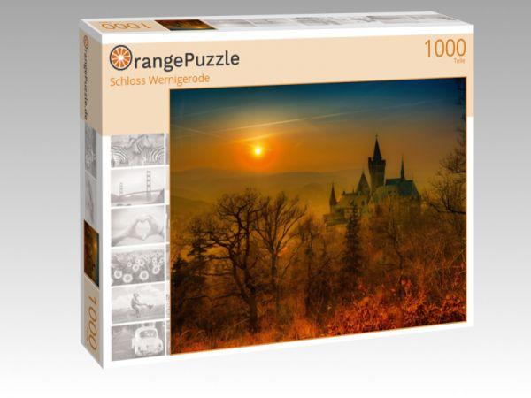 "Puzzle Motiv ""Schloss Wernigerode"" - Puzzle-Schachtel zu 1000 Teile Puzzle"