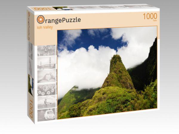 """Puzzle Motiv """"Ioh Valley"""" - Puzzle-Schachtel zu 1000 Teile Puzzle"""
