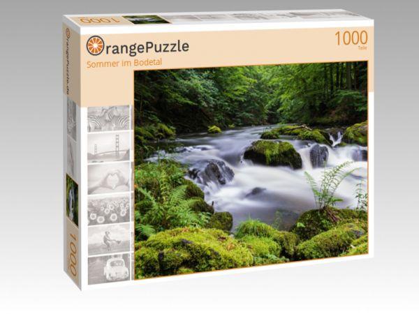 "Puzzle Motiv ""Sommer im Bodetal"" - Puzzle-Schachtel zu 1000 Teile Puzzle"
