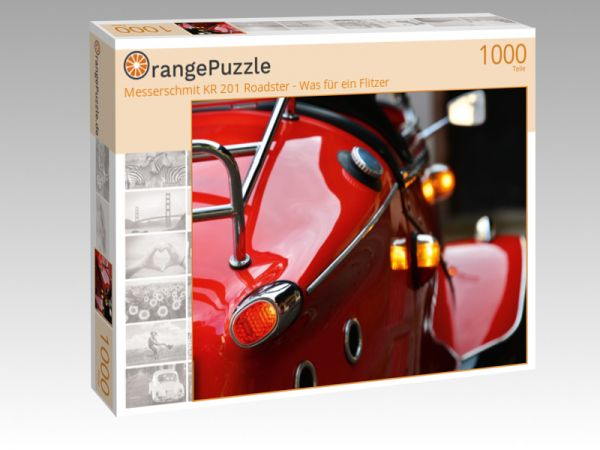 """Puzzle Motiv """"Messerschmit KR 201 Roadster - Was für ein Flitzer"""" - Puzzle-Schachtel zu 1000 Teile Puzzle"""