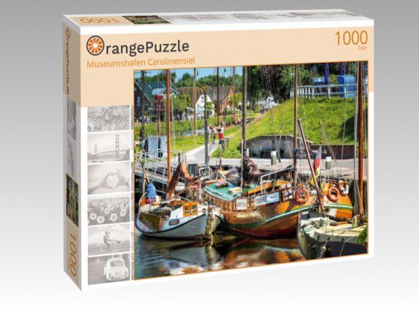 "Puzzle Motiv ""Museumshafen Carolinensiel"" - Puzzle-Schachtel zu 1000 Teile Puzzle"