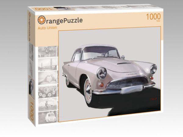"""Puzzle Motiv """"Auto Union"""" - Puzzle-Schachtel zu 1000 Teile Puzzle"""