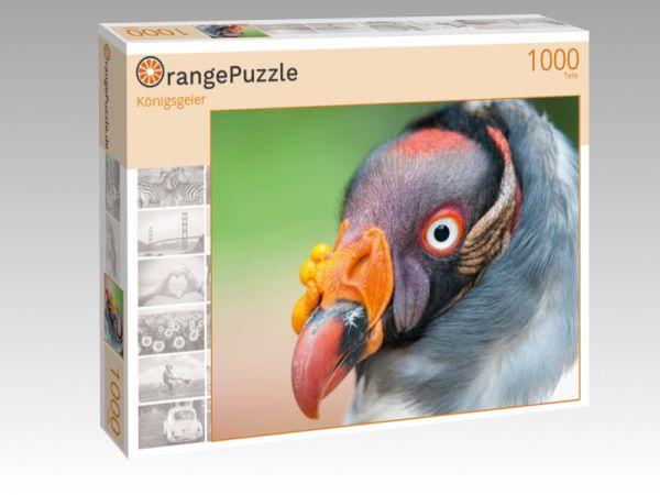 """Puzzle Motiv """"Königsgeier"""" - Puzzle-Schachtel zu 1000 Teile Puzzle"""