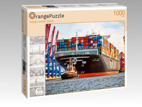"Puzzle Motiv ""Hanjin Green Earth"" - Puzzle-Schachtel zu 1000 Teile Puzzle"