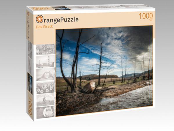 """Puzzle Motiv """"Das Wrack"""" - Puzzle-Schachtel zu 1000 Teile Puzzle"""