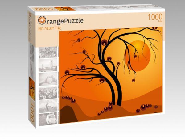"""Puzzle Motiv """"Ein neuer Tag"""" - Puzzle-Schachtel zu 1000 Teile Puzzle"""